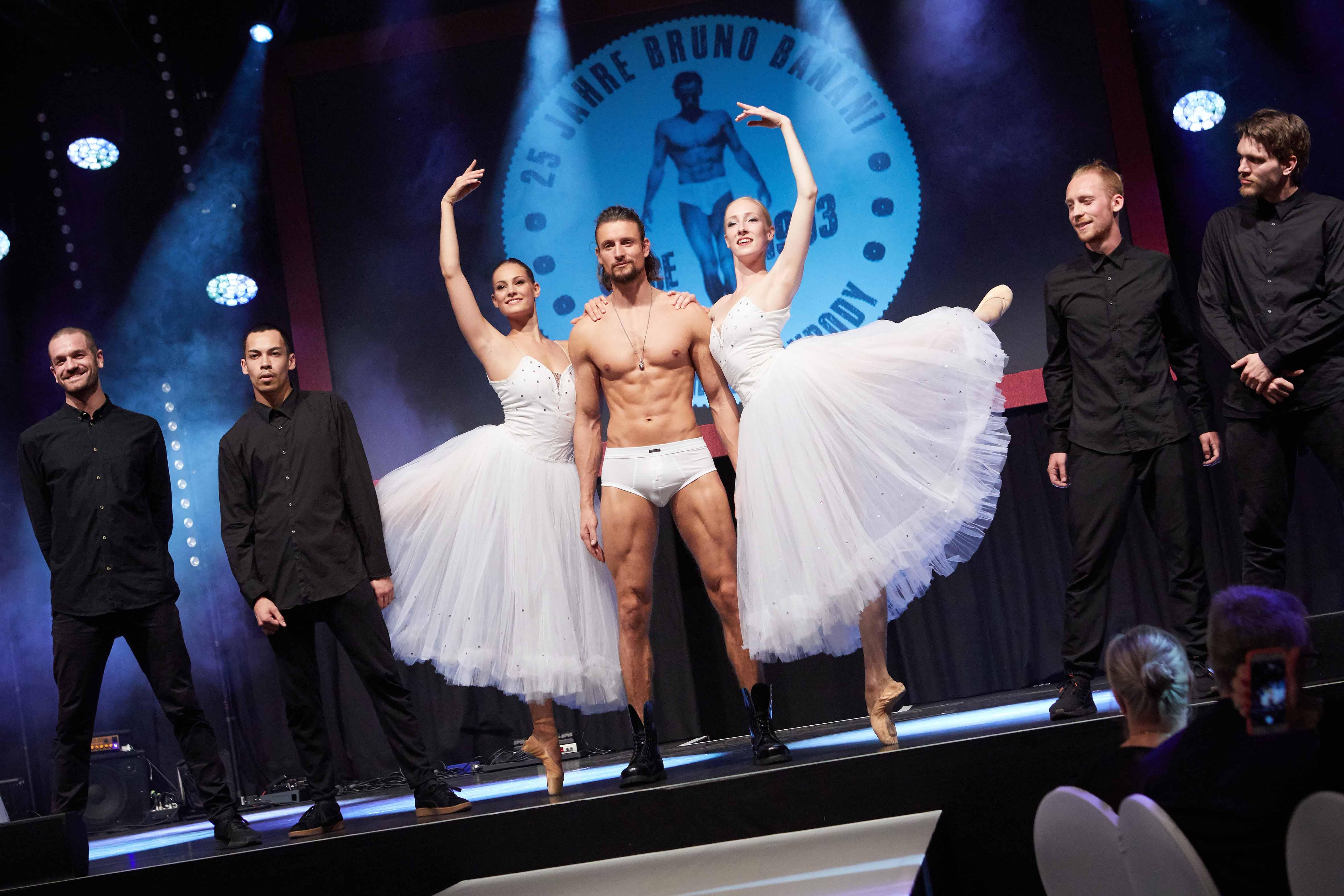 Bruno Banani, Jubiläum, Tänzer, Models, Showproduktion, Chemnitz